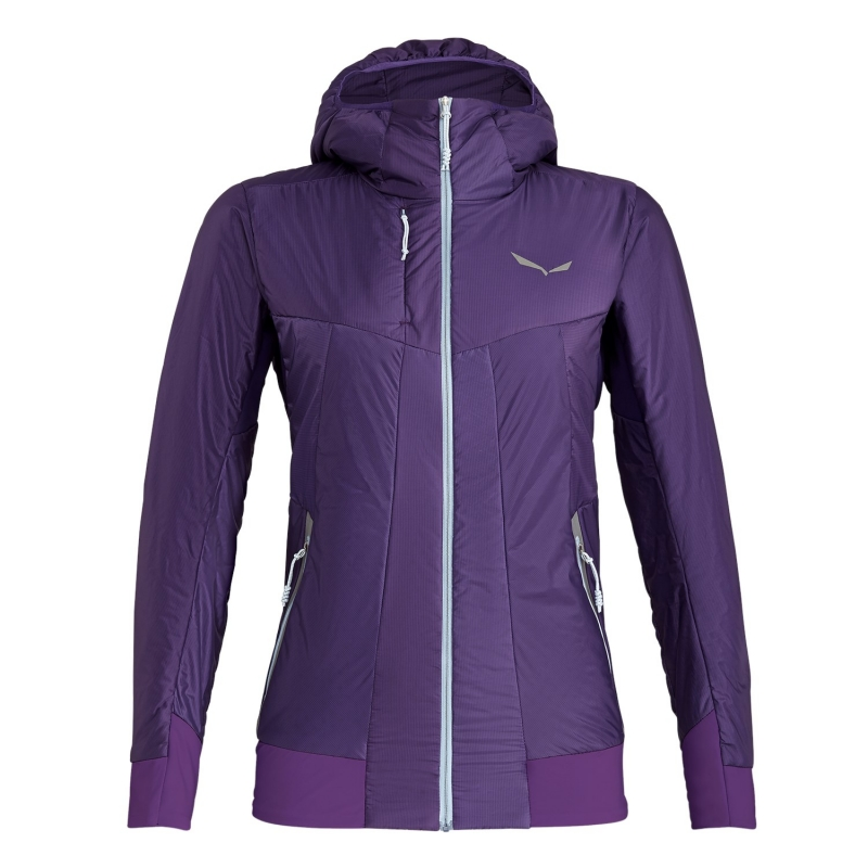 Salewa PEDROC HYBRID TIROLWOOL CELLIANT WOMENS HOODED JACKET 6781