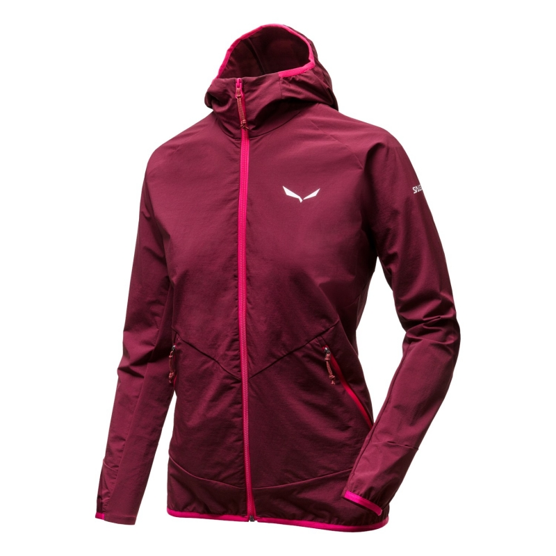 Salewa PUEZ DURASTRETCH FULL-ZIP WOMENS HOODY 1881