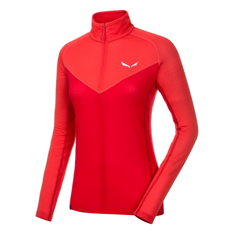 Salewa ORTLES 2 POLARTEC® HALF-ZIP LONG SLEEVE WOMENS BASELAYER 1841