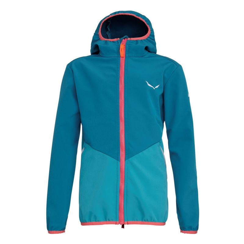 Salewa  FANES 2 STORMWALL SOFTSHELL KIDS' JACKET 8731