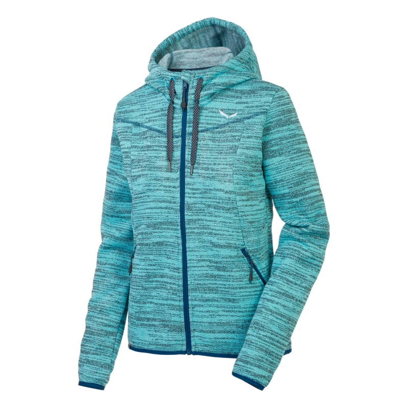 Salewa FANES POLARLITE FULL-ZIP WOMEN'S HOODY 3390