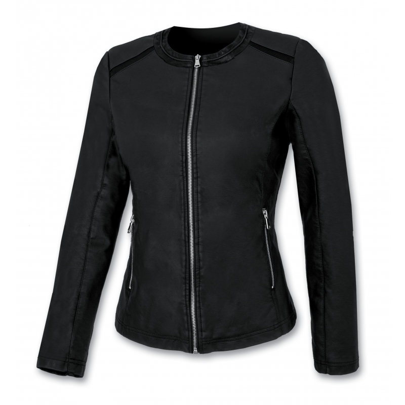 Ast women's leather jacket 500