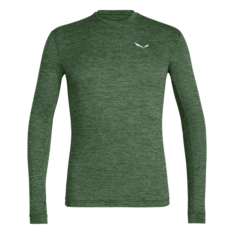 Salewa PUEZ MELANGE DRY LONG SLEEVE MENS TEE 5616