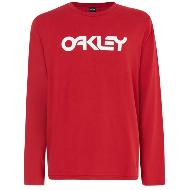 Oakley MARK II L/S TEE SAMBA RED 4A6