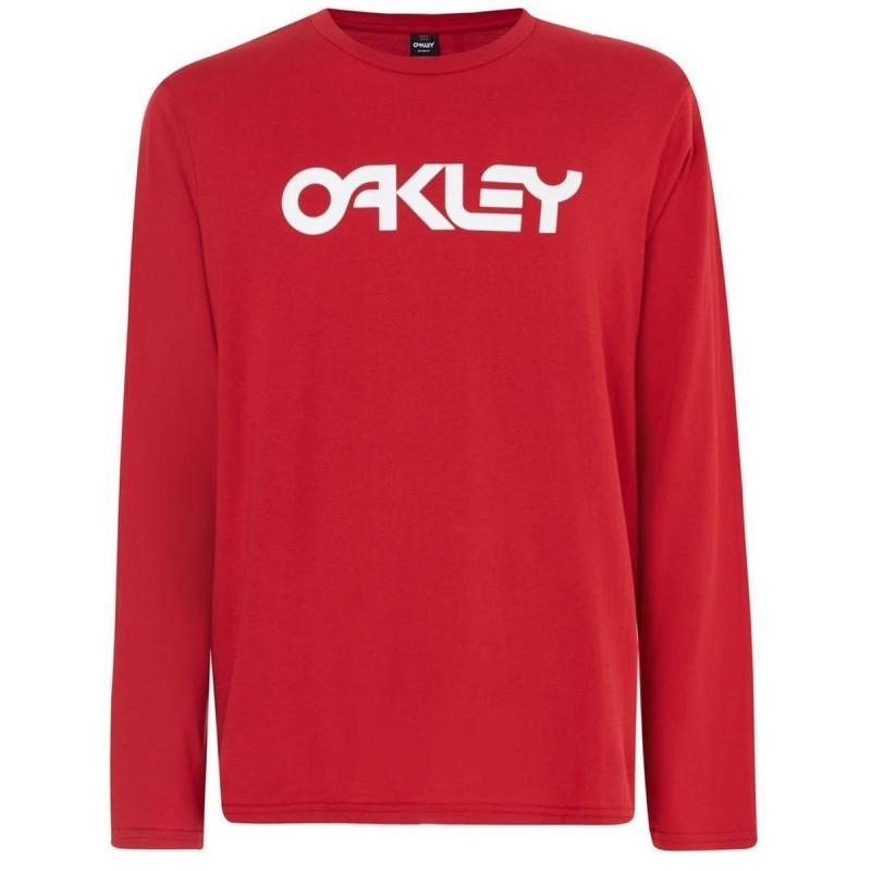 Oakley MARK II L/S TEE SAMBA RED 4A6