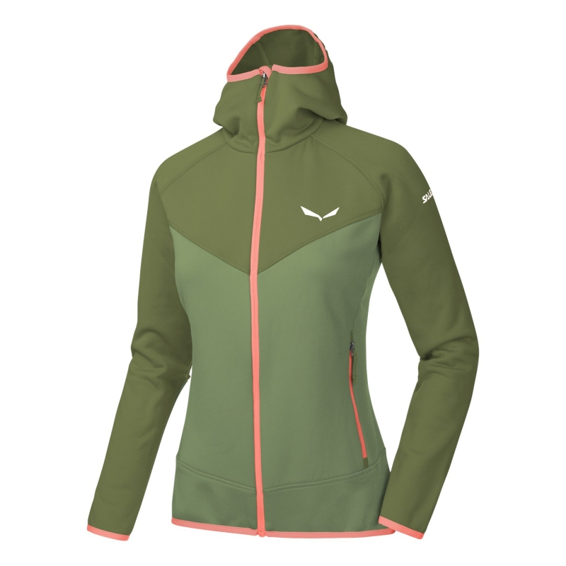 Salewa PUEZ 3 POLARLITE FULL-ZIP WOMENS HOODY 5871