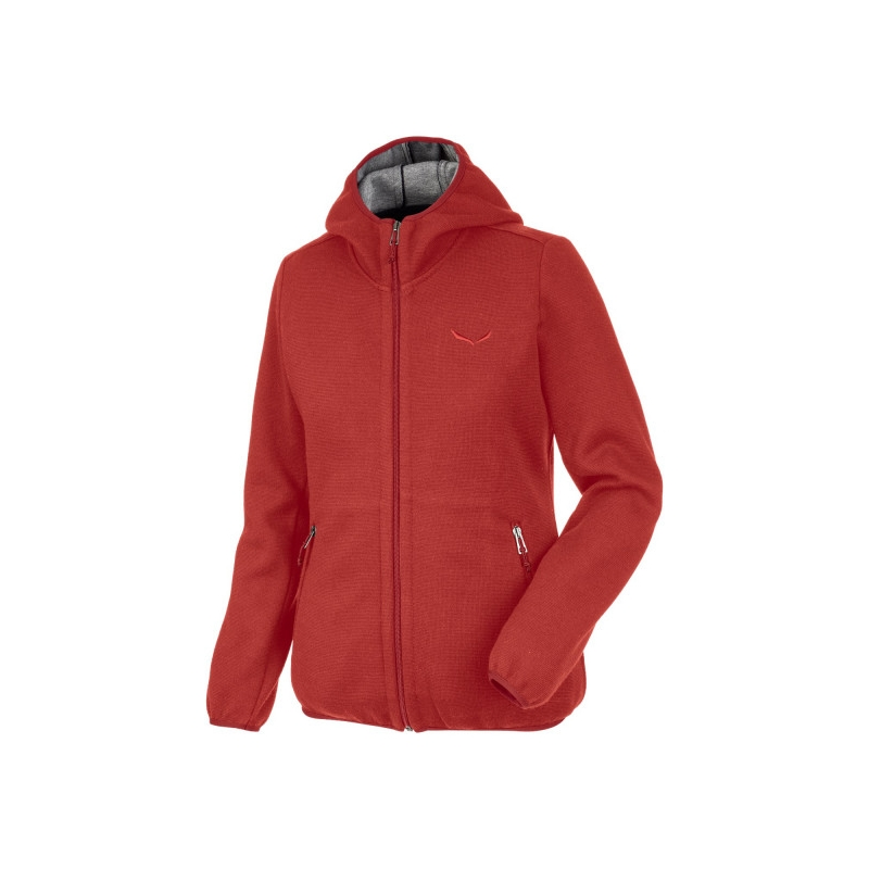 Salewa WOOLEN LIGHT FULL-ZIP WOMENS HOODY 1891