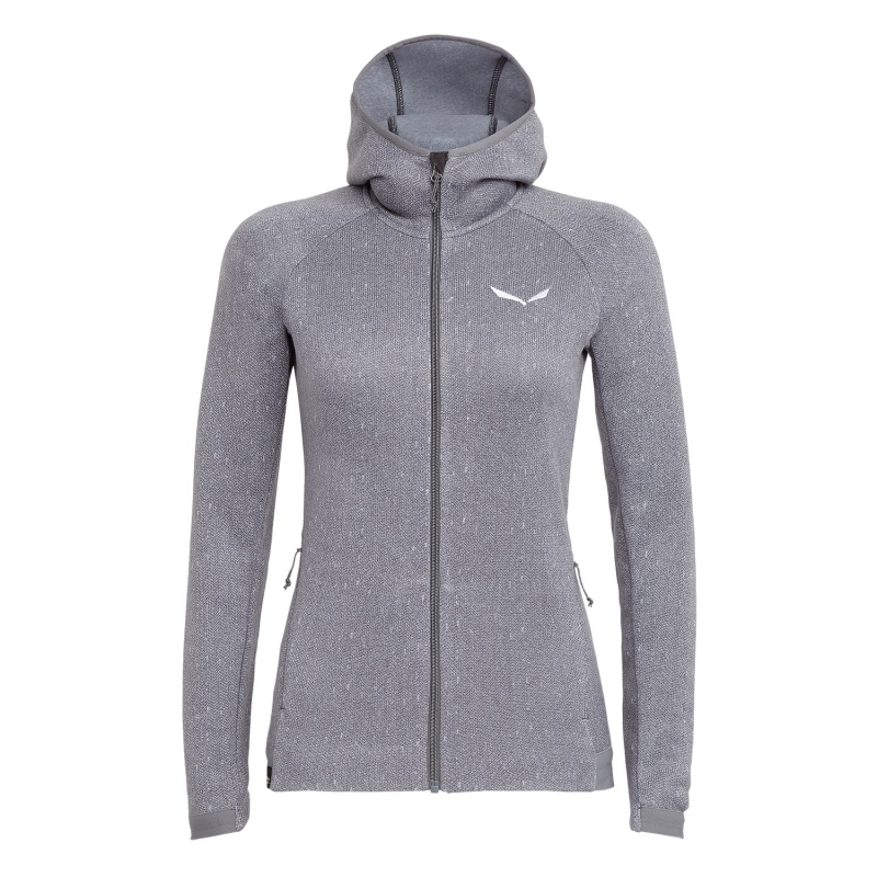 Salewa PUEZ HERRINGBONE POLARLITE FULL-ZIP WOMENS FLEECE 0346