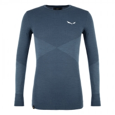 Salewa ZEBRU RESPONSIVE LONG SLEEVE MENS TEE 8670