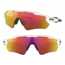 Oakley RADAR EV PATH POLISHED WHITE PRIZM RUBY 7238